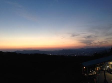 日本平山頂160105